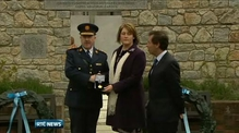 Medal given to Det Garda Donohoe's family