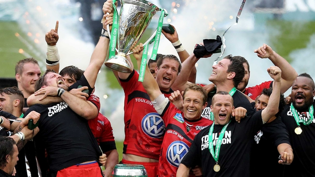 Toulon are the Heineken Cup champions for 2013