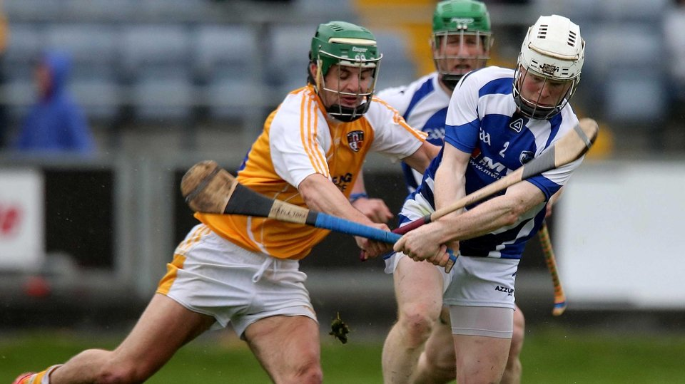 Laois pulled of a shock in the Leinster SHC with a six-point win over Antrim