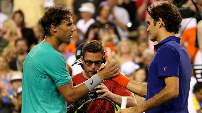 Rafa Nadal has already beaten Roger Federer this year