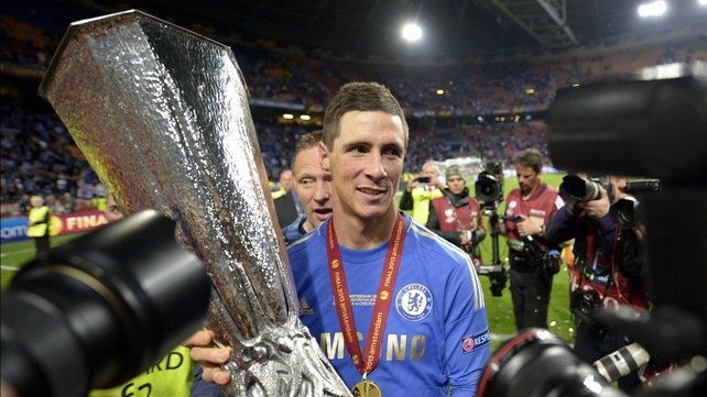 Fernando Torres scored six goals in six Europa League games