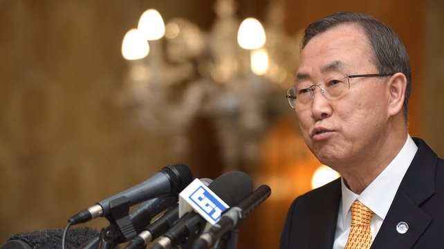 Ban Ki-moon called on Russia to help get North Korea back to six-party talks