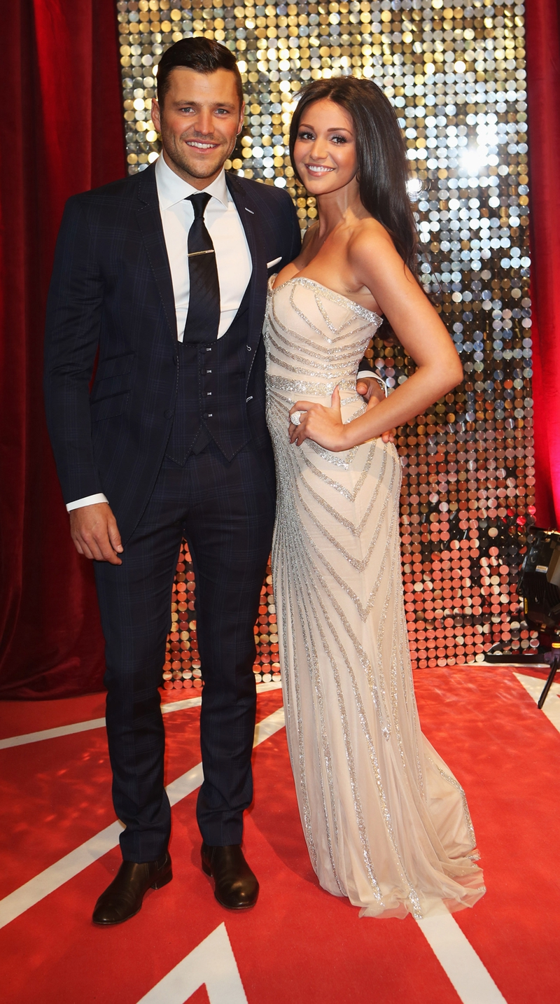Mark Wright with Michelle Keegan