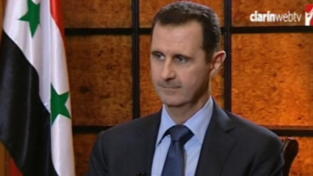 Russia has been a strong defender of Bashar al-Assad