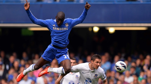Demba Ba said he was open to all sorts of competition