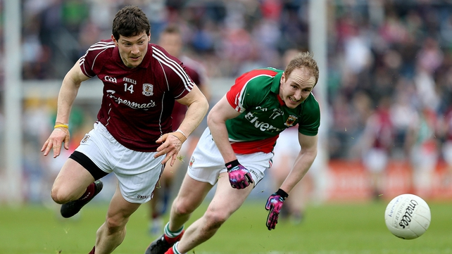 Tom Cunniffe makes his first start for Mayo this season