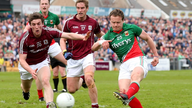 Mayo eased past Galway in Sunday's Connacht Championship encounter