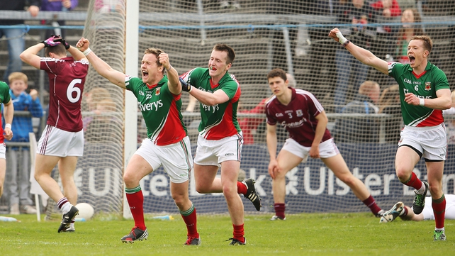 Mayo easily accounted for Galway in Salthill