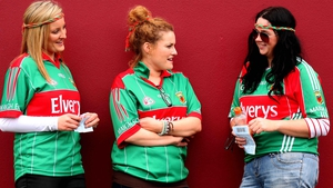 Mayo fans just hanging before the game