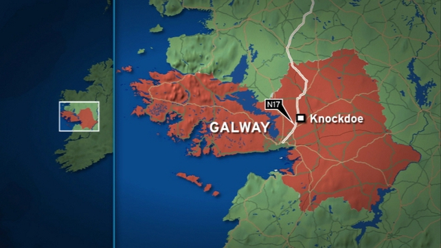 The fatal crash happened on the N17 at Knockdoe in the early hours of the morning