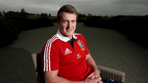 """Stuart Hogg: '""""My dad is Scottish, but my granny was Irish and off the Best side. It is a pretty amazing feeling to find out you are related in some way, maybe distant, to him. It's pretty cool.'"""