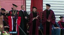 Taoiseach accepts honorary doctorate at Boston College