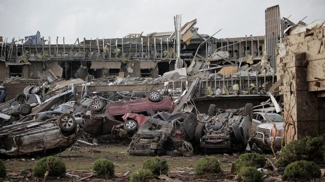 24 people were killed in tornadoes in Oklahoma last week