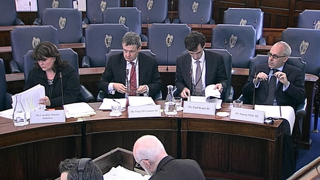 The Oireachtas Health Committee heard from legal experts today
