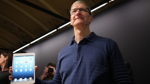 Tim Cook saw his take home pay rocket 47% to $12.8m in 2017