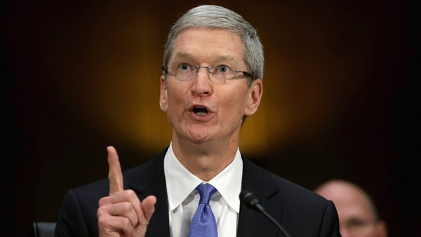 Tim Cook said Apple had received a 'tax incentive arrangement' as part of its decision to establish in Ireland