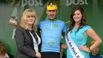 Meehal Fitzgerald, stage three county jersey winner, talks about his success