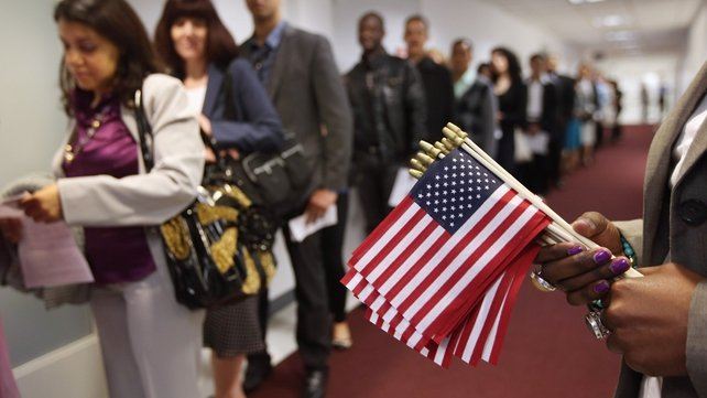 Around 11 million people could eventually gain US citizenship if Congress passes the reforms