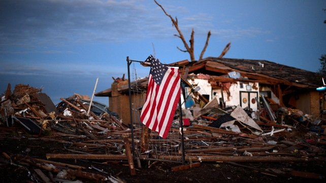 US President Barack Obama has pledged to focus the nation's resources on recovery