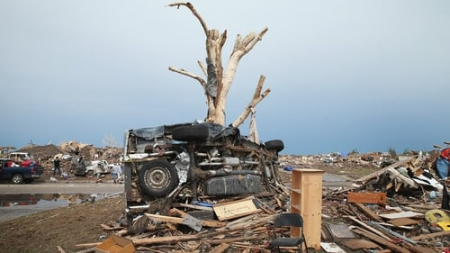24 people died after a tornado tore through the town of Moore, Oklahoma