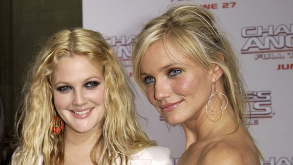 Drew Barrymore was a 14-year-old waitress when she befriended 16-year-old model, Cameron Diaz