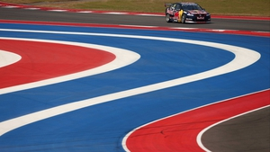 Jamie Whincup during qualifying for the Austin 400 of the V8 Supercar Championship at Circuit of The Americas in Texas