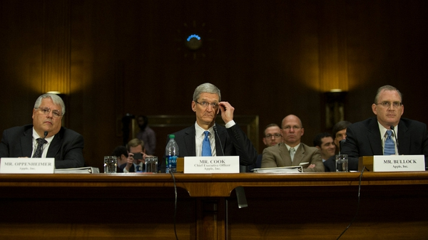 Apple's executives faced tough questions from the US Senate panel