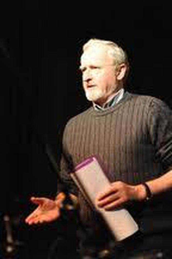 Poet Phil Lynch