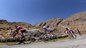A general view of the riders at Healy Pass, Co Kerry
