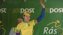 Marcin Bialoblocki comments on defending the yellow jersey on the fourth stage of the Rás