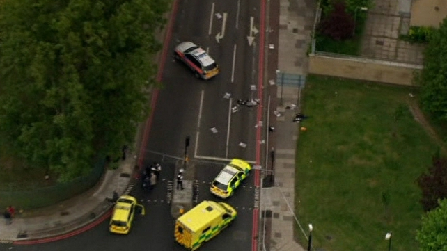 The incident happened close to the Royal Artillery Barracks