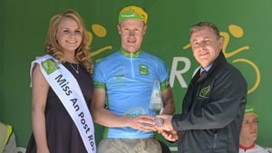 Roger Aiken (Louth Prague Charter) with the One Direct best amateur county rider jersey