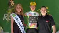 Mike Cuming discusses taking control of the king of the mountains classification
