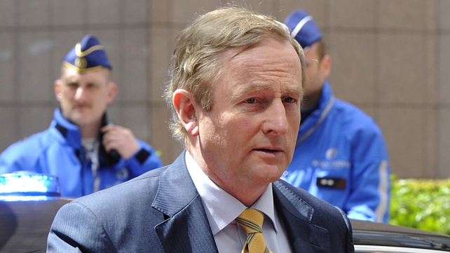 Enda Kenny discussed Ireland's priorities for the remaining weeks of its EU presidency