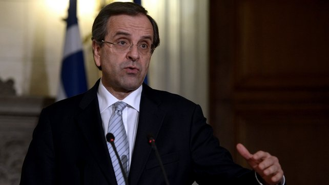 Mr Samaras wants to use Ireland as an example of a country returning to financial sovereignty