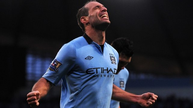 Pablo Zabaleta is sticking with Manchester City