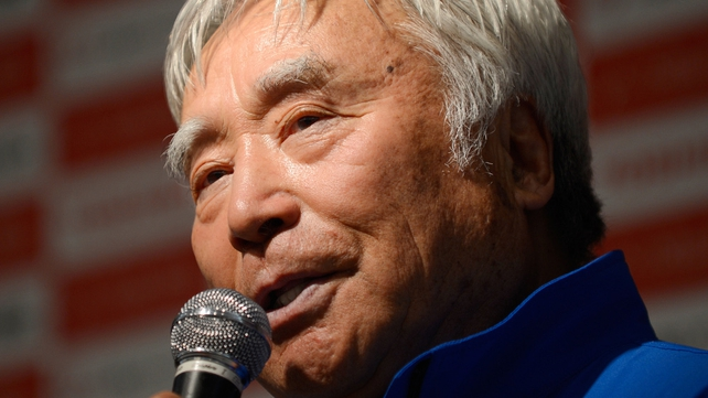 Yuichiro Miura became the oldest conqueror of the world's highest peak