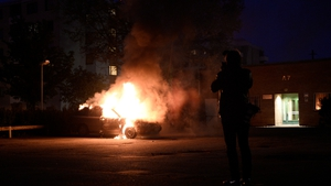Cars were set alight and windows broken in four consecutive nights of violence in Stockholm's suburbs