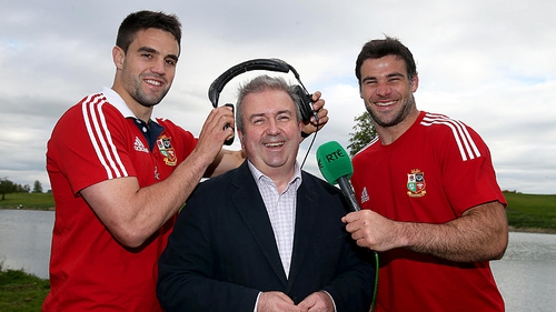 The distinctive tones of Michael Corcoran will be heard on RTÉ Radio's comprehensive coverage