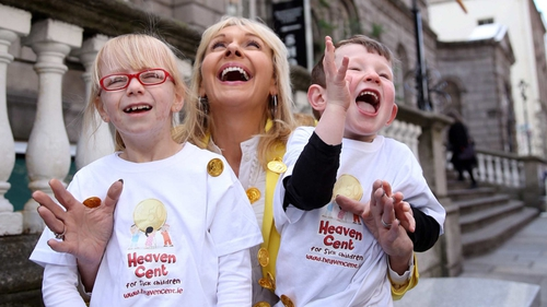 Miriam O'Callaghan launches Heaven Cent fundraising campaign