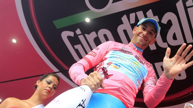 Vincenzo Nibali leads the way at the Giro d'Italia
