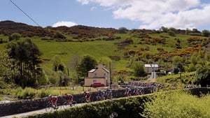 The peloton at Ballingeary, Co Cork