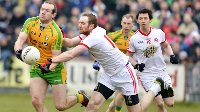 Donegal and Tyrone are meeting for the third consecutive year in Ulster