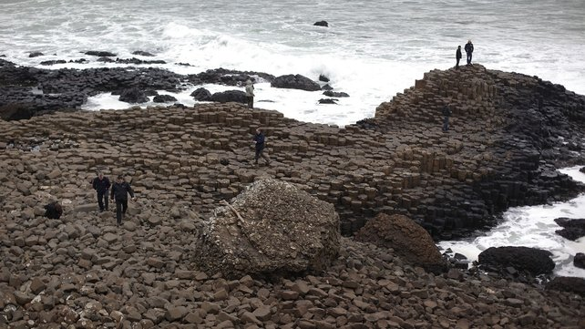 The Giant's Causeway is Northern Ireland's only world heritage site