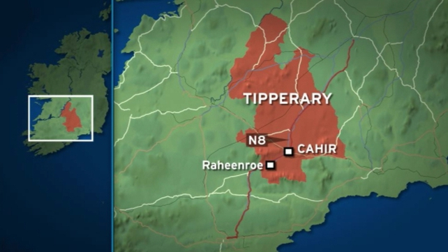 Two-vehicle collision occurred near Cahir at 2am