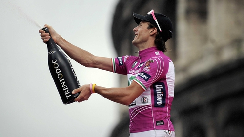 Di Luca was previously handed a two-year ban during the 2009 edition of the Giro d'Italia
