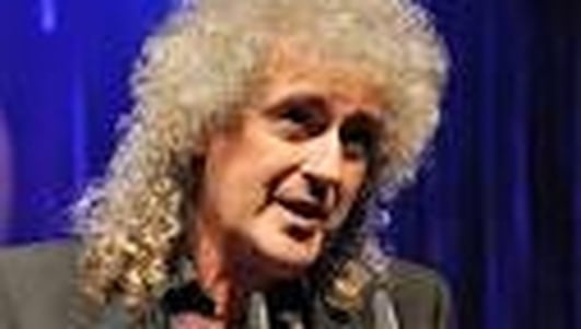 Legendary guitarist Brian May