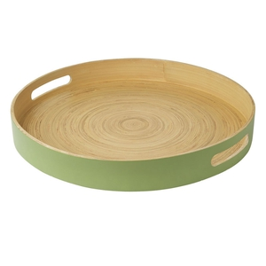 Marks & Spencer spun bamboo serving tray, €17. Available in stores or online.