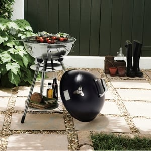 Jamie Oliver kettle BBQ available from Homebase