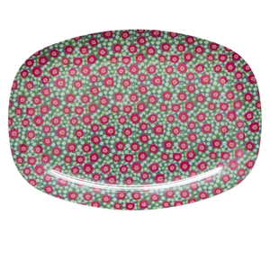 Debenhams melamine peony flower serving plate, €12.50, available in store or online